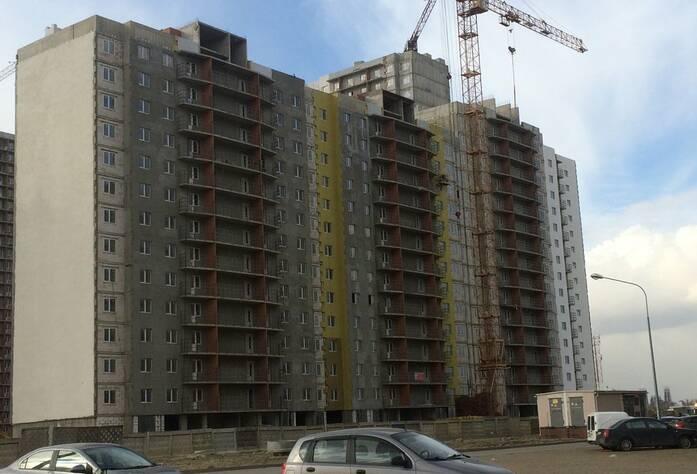 ЖК «Шушары» («Дальпитерстрой»): ход строительства, участок 463 корпус 2 (март 2016)