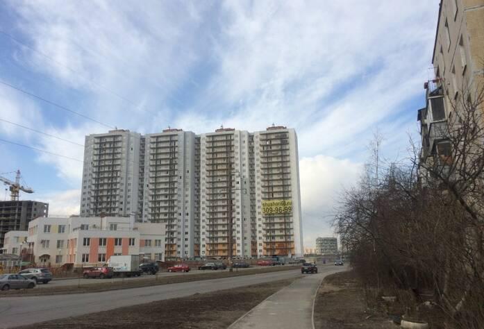 ЖК «Шушары» («Дальпитерстрой»): ход строительства корпуса 68 (март 2016)