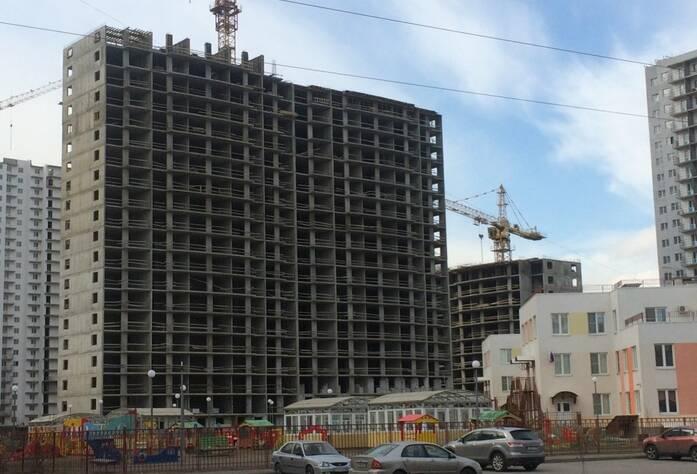 ЖК «Шушары» («Дальпитерстрой»): ход строительства корпуса 65 (март 2016)
