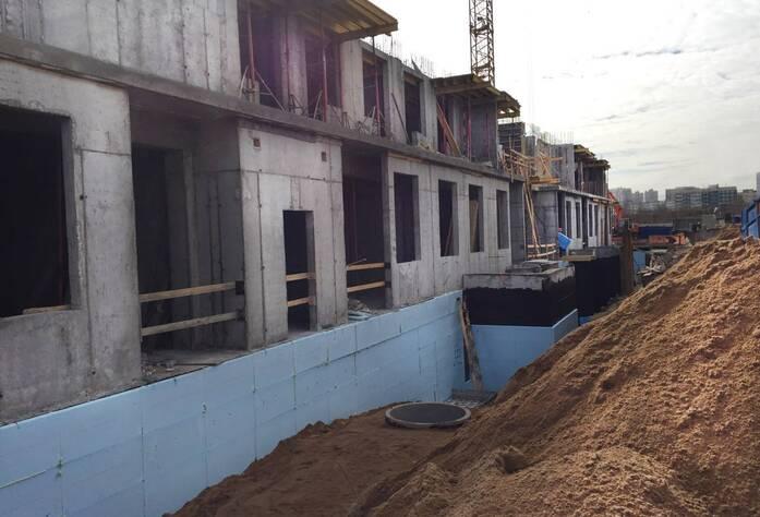 Жилой комплекс «Миллениум»: ход строительства (апрель 2016)