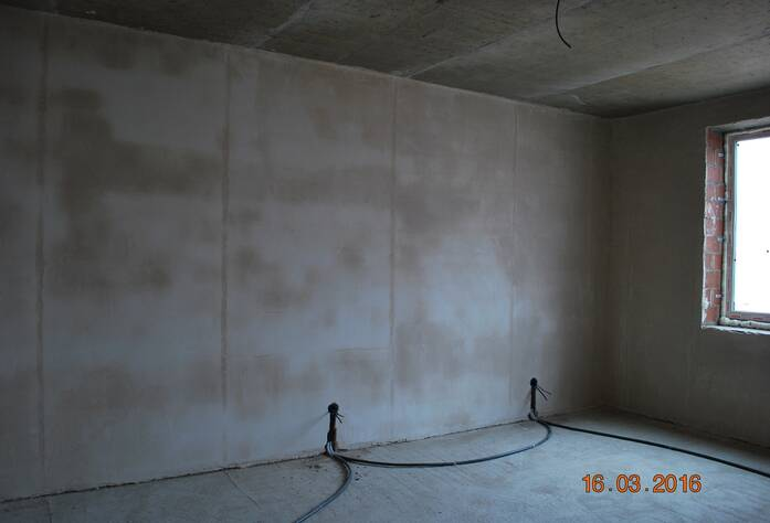 Жилой комплекс «Новый Петергоф»: ход строительства корпуса 1.1 (III очередь) (16.03.2016)
