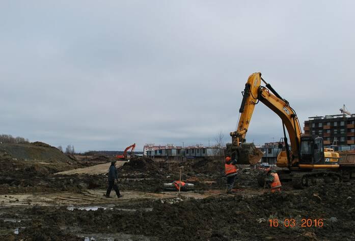 Жилой комплекс «Новый Петергоф»: ход строительства (IV очередь) (16.03.2016)
