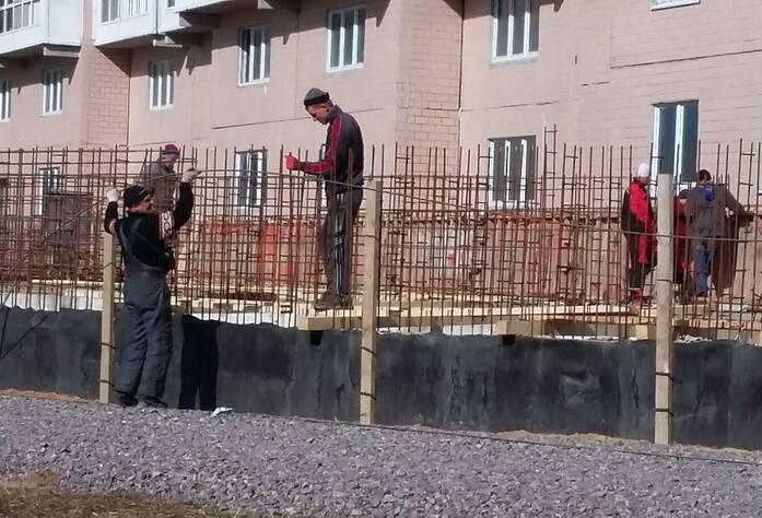 ЖК «Каменка»: ход строительства 11.04.2016