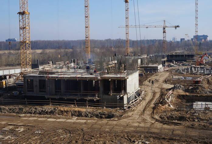 ЖК «Чистое небо»: ход строительства, корпус 3 (27.03.2016)