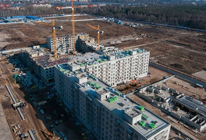 ЖК «Новоорловский»: ход строительства корпусов 1.5.1 и 1.5.2