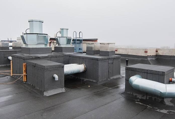 ЖК «Тойве»: крыша