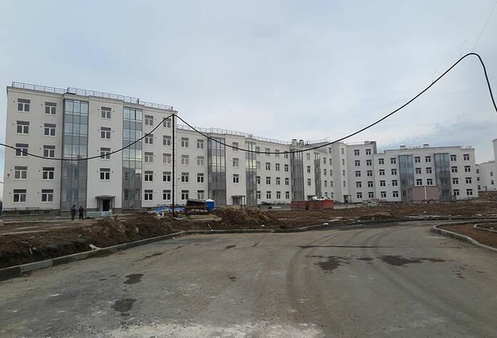 Малоэтажный ЖК «Новое Сертолово»: общий вид корпуса 3 первой очереди