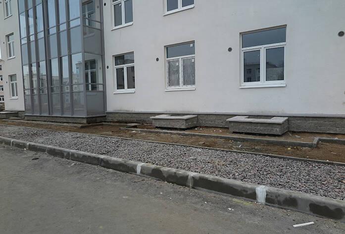 Малоэтажный ЖК «Новое Сертолово»: общий вид корпуса 5 первой очереди