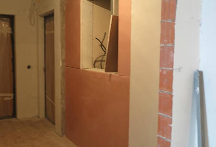 Малоэтажный ЖК «Новое Сертолово»: отделка внутри корпуса 7 первой очереди