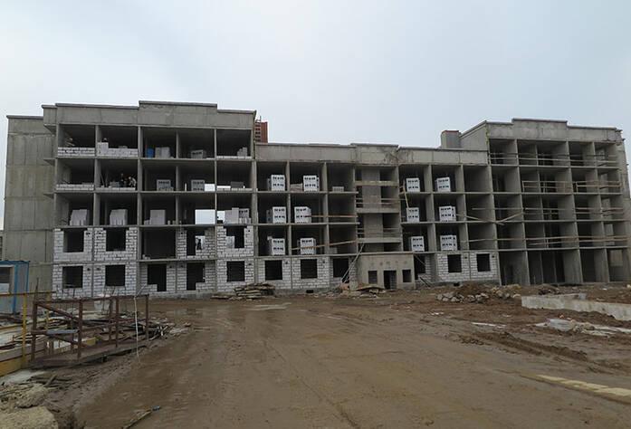 Малоэтажный ЖК «Новое Сертолово»: ход строительства корпуса 1 второй очереди