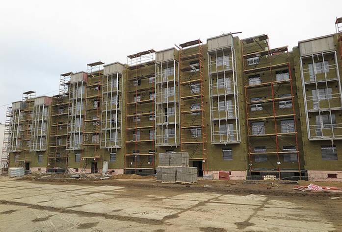 Малоэтажный ЖК «Новое Сертолово»: ход строительства корпуса 3 второй очереди