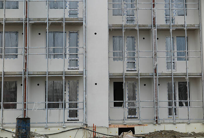 Малоэтажный ЖК «Новое Сертолово»: ход строительства корпуса 4 второй очереди