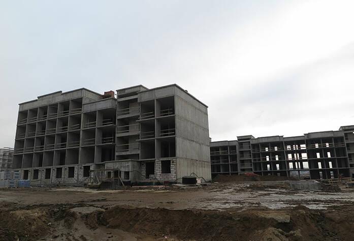 Малоэтажный ЖК «Новое Сертолово»: ход строительства корпуса 5 второй очереди