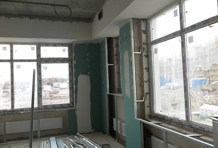 Малоэтажный ЖК «Новое Сертолово»: ход строительства детского сада
