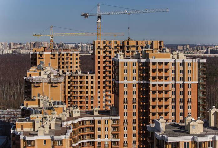 ЖК «Лиственный»: ход строительства, общий вид