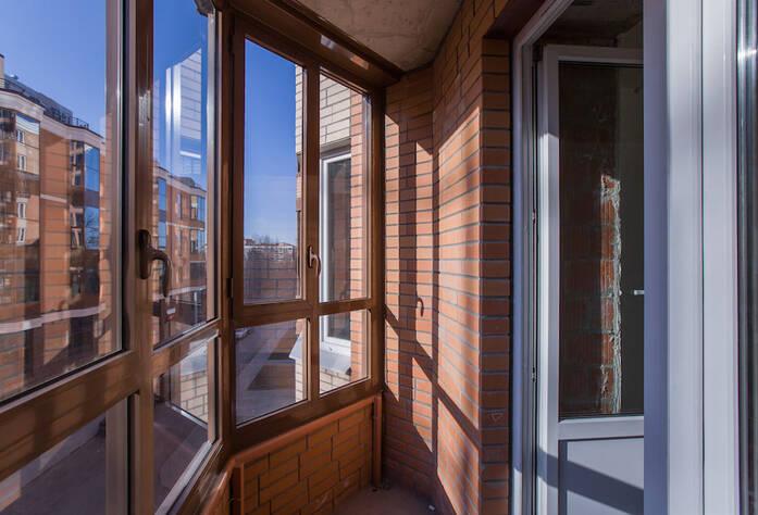 ЖК «Лиственный»: ход строительства, балкон