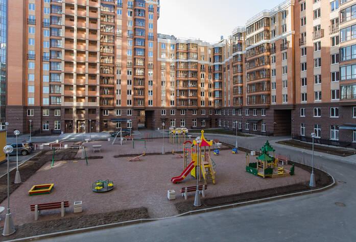 ЖК «Лиственный»: ход строительства, двор