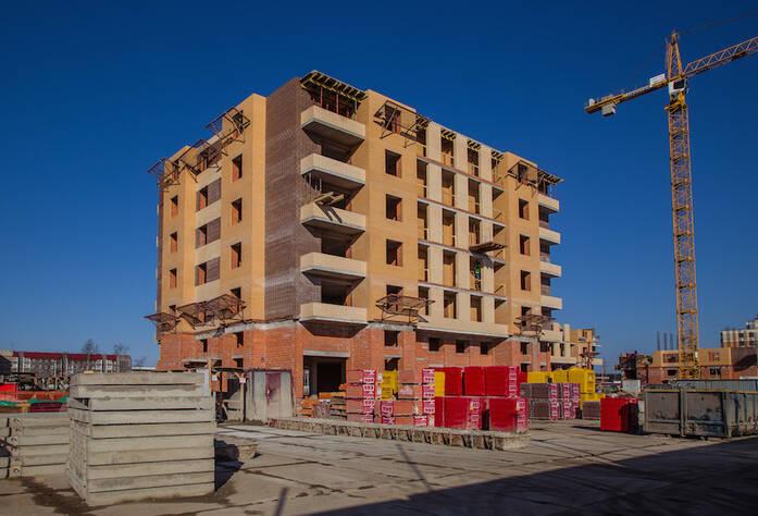 ЖК «NewПитер»: ход строительства, общий вид