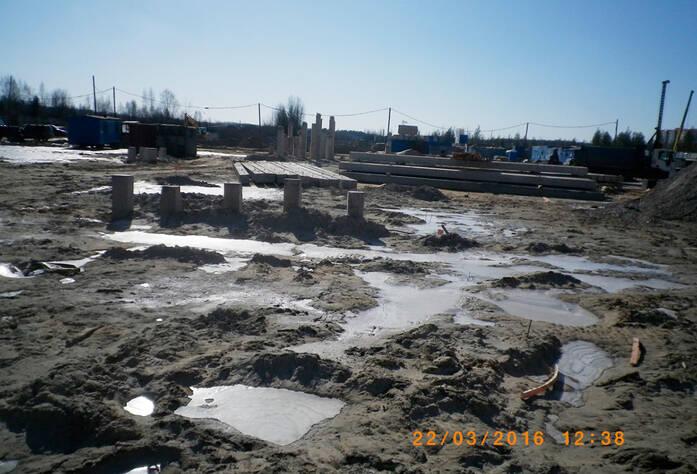 ЖК «Радужный»: строительная площадка, корпус 5