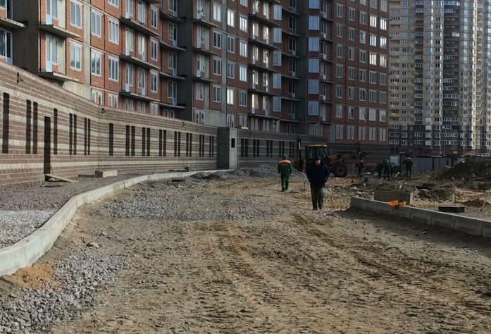 ЖК «Балтийская волна»: общий вид комплекса: ход строительства