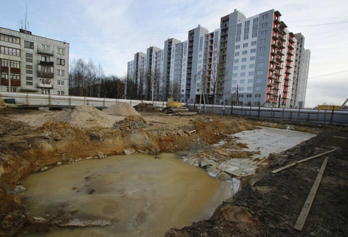ЖК «Брусничный»: ход строительства корпуса 3