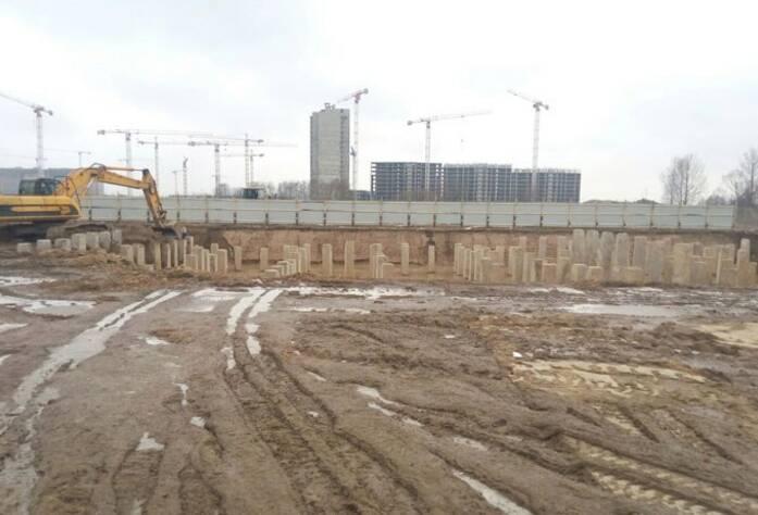 ЖК «Форвард»: ход строительства корпуса 1 (апрель 2016)