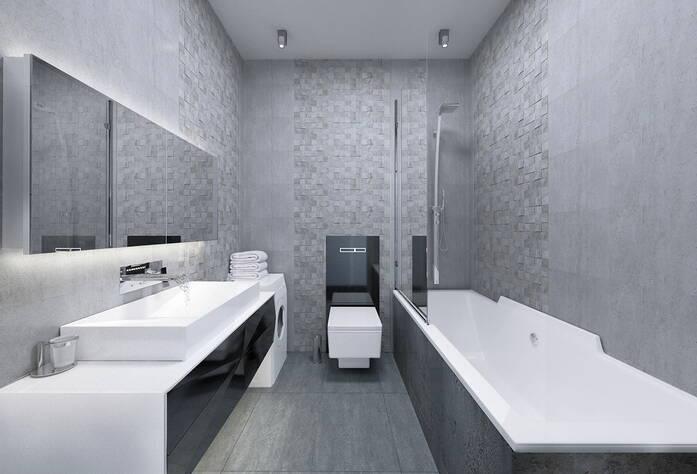 МФК «Prime Residence»: вариант отделки в стиле Hi-tech, визуализация