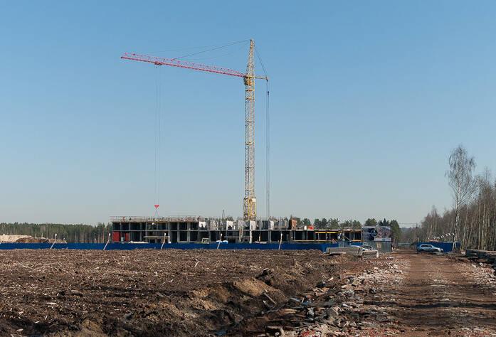 ЖК «Северный вальс»: ход строительства корпуса 1