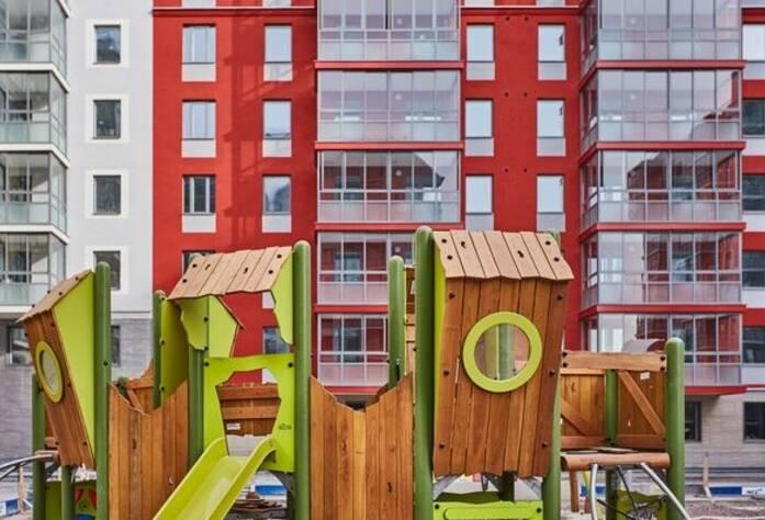 ЖК «Skandi Klubb»: детская площадка в первой очереди