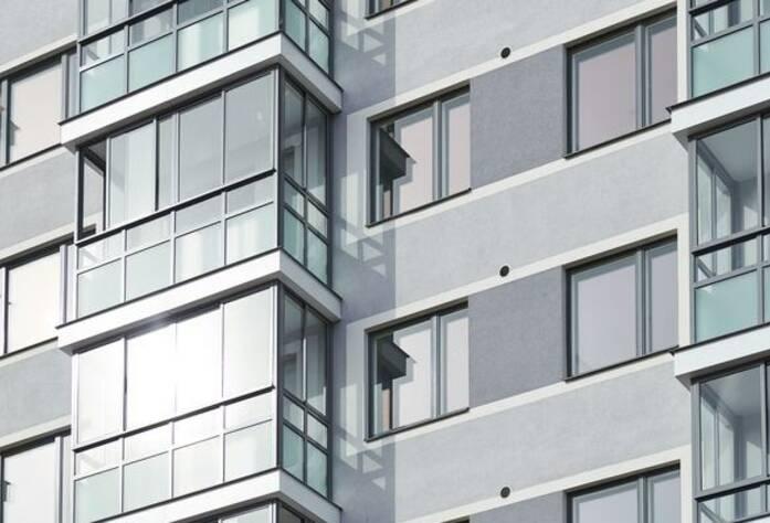 ЖК «Skandi Klubb»: фасад корпуса первой очереди