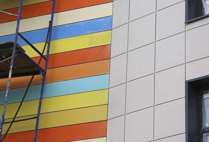 ЖК «Jaanila country»: фасад детского сада