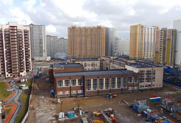 Ход строительства ЖК «YouПитер»: школа