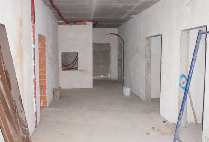 ЖК «The Residence»: ход строительства корпуса А, внутренний вид