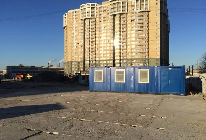 Ход строительных работ МФК «Москва»: строительная площадка