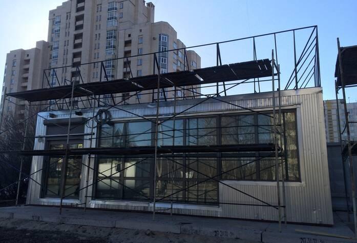 Ход строительных работ МФК «Москва»