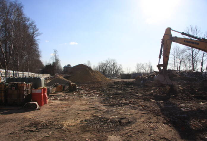 Жилой комплекс «Петровская ривьера» ход строительства