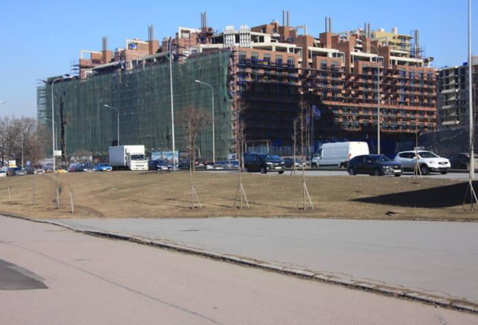 ЖК «Дом на излучине Невы»: ход строительства