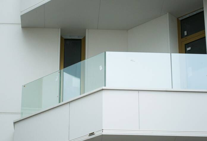 Готовый балкон квартиры в секции «Сицилия»