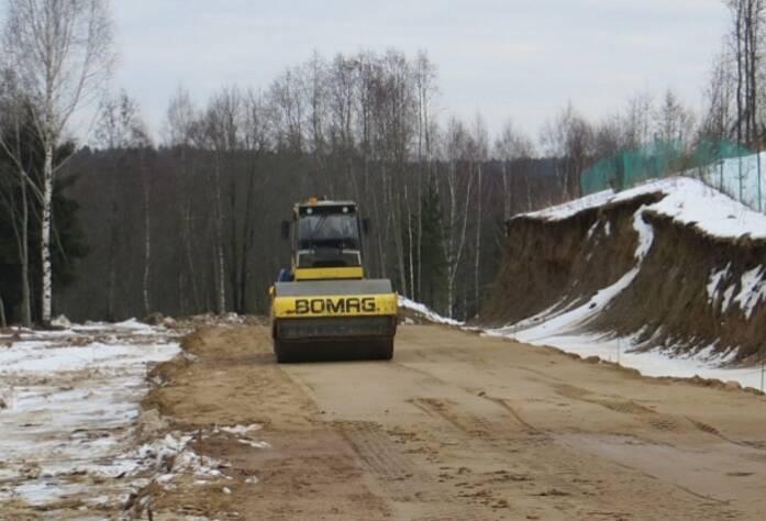 Строительство подъездной дороги
