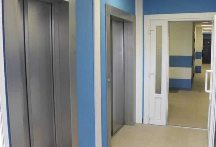 ЖК «More»: лифтовый холл