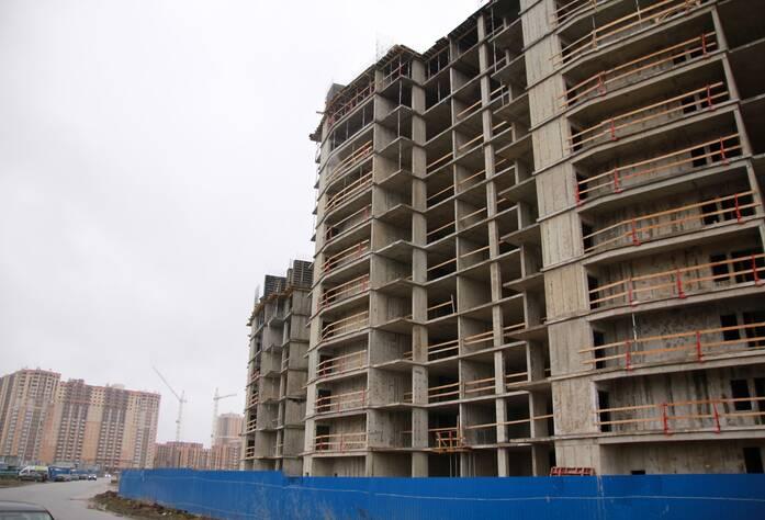 ЖК «Новый Оккервиль»: вид на секции 8-6 с Областной ул.