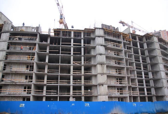 ЖК «Новый Оккервиль»: вид на секции 5-4 со стороны Областной ул.