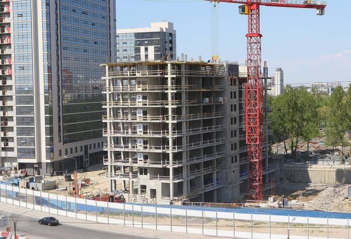 МФК «Salut!»: ход строительства 5 корпуса