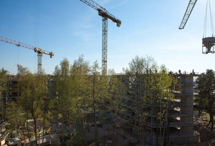 Санаторно-курортный комплекс «Светлый мир «Внутри»: ход строительства