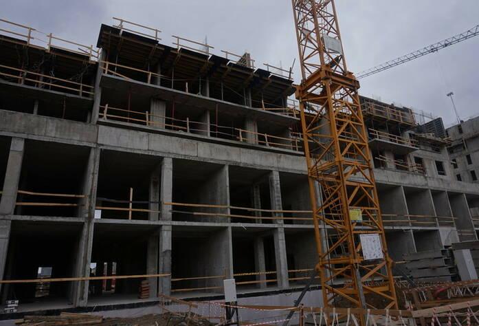 Ход строительства ЖК «GreenЛандия 2»: корпус 2.1