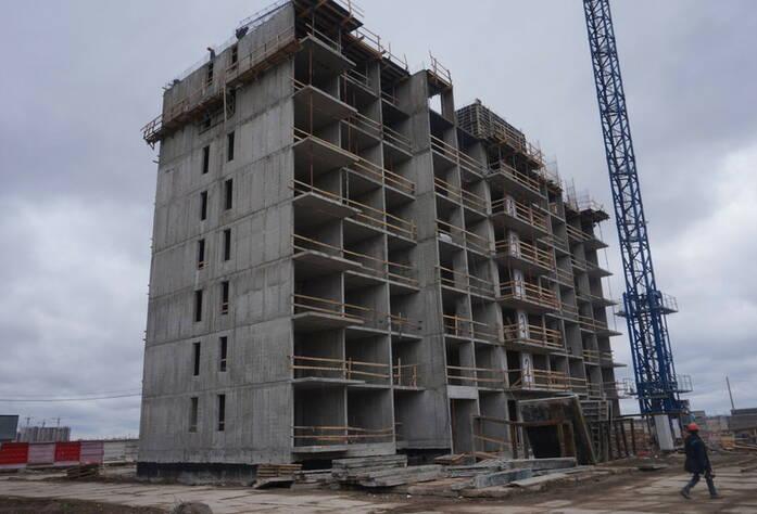 Ход строительства ЖК «GreenЛандия 2»: корпус 2.2