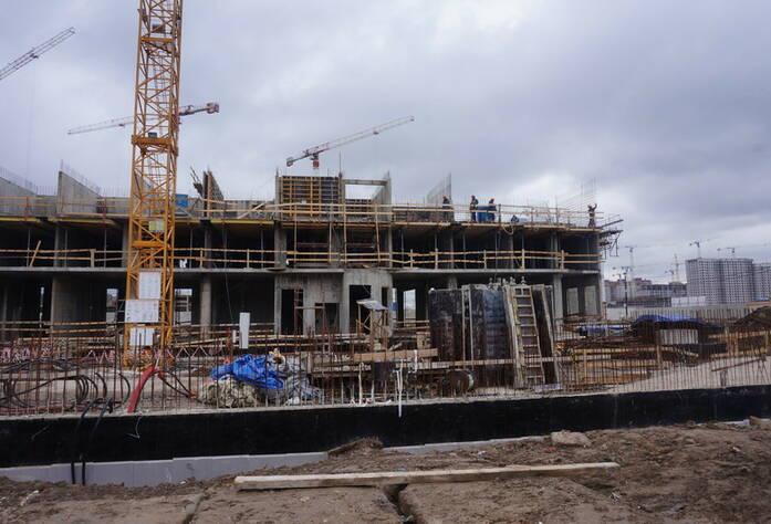 Ход строительства ЖК «GreenЛандия 2»: корпус 2.4