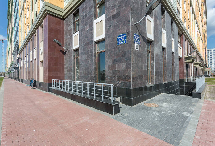ЖК «Времена года»: фасад корпуса 3