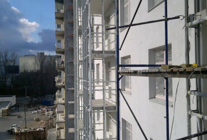 ЖК «ЗимаЛето»: фасад корпуса 1