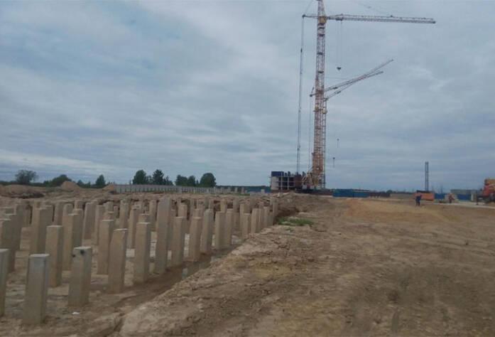 ЖК «Форвард»: ход строительства корпуса 1